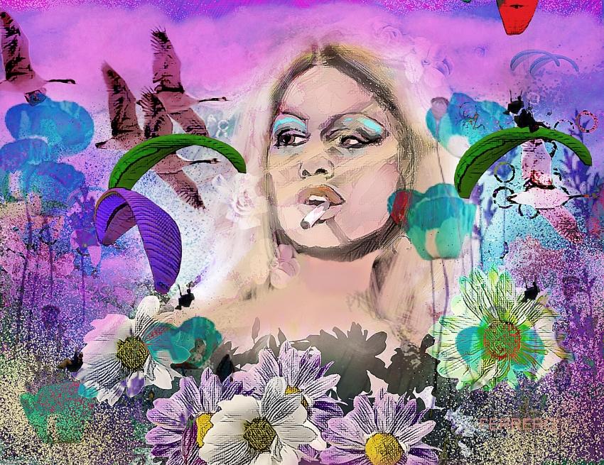Brigitte Bardot por ferrokaro